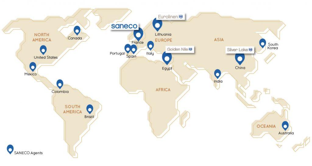 saneco-map-subsidiaries