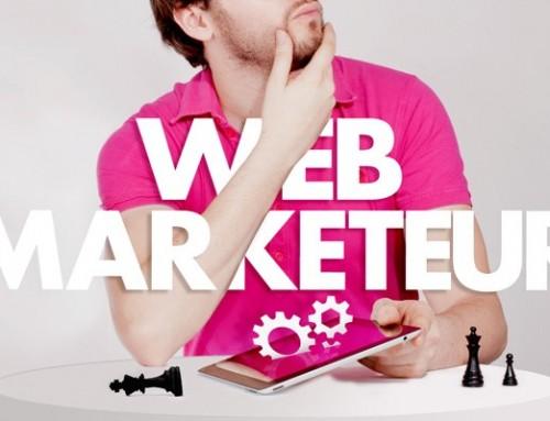 CDD 12 mois: WEBMARKETEUR à partir du 3 Avril 2017