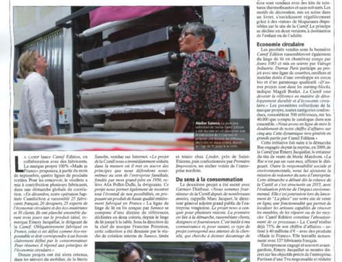 SANECO dans la presse – le Journal du Textile