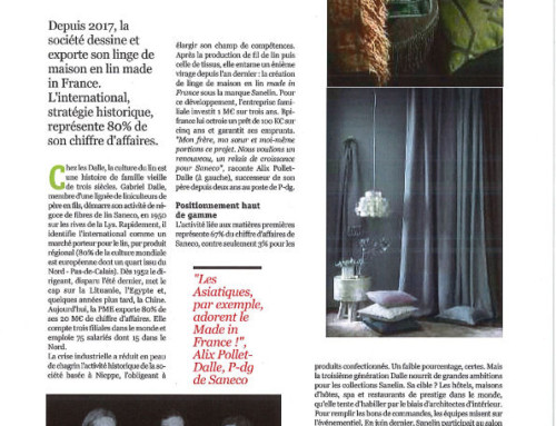 SANECO dans la presse – Eco 121 n°85