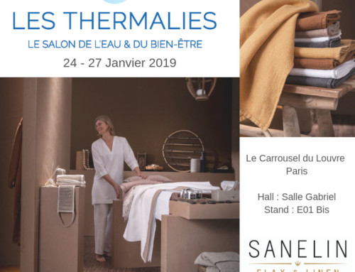 SANELIN au salon Les Thermalies  à Paris – 24 au 27 janvier 2019