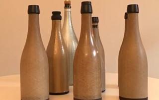 bouteille en fibres de lin