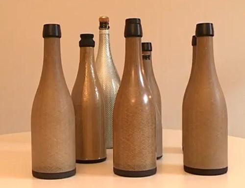 La première bouteille en fibres de lin