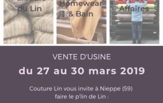 vente de linge de maison Nieppe